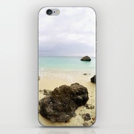 Boracay Rock by the bay iPhone Skin