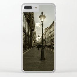 Budapest Night Lights Clear iPhone Case