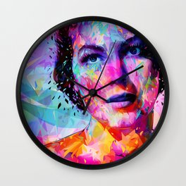 Ava Gardner Wall Clock