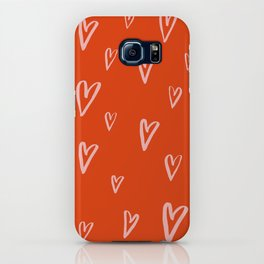 Heart Doodles 2 iPhone Case