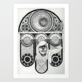 Hanus Ego Art Print