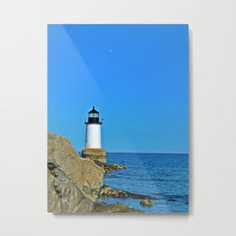 Safety by the Sea Metal Print