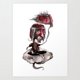 Open Your Head Art Print