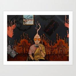Fear & Loathing In Las Vegas Art Print