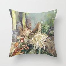 Fangorn Throw Pillow