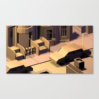 baltimore Canvas Prints featuring Baltimore by AviAht