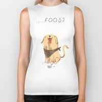 food Biker Tanks featuring food? by Louis Roskosch