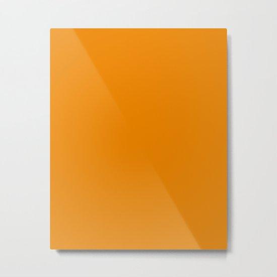 Apricot Orange Color Scheme Home Decor Metal Print