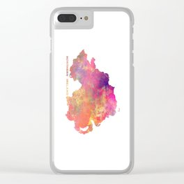 Northern Ireland #map #ireland Clear iPhone Case