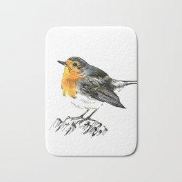 Chirpy Robin Bath Mat