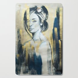 fashion illustration Cutting Board
