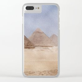 Great Pyramid of Giza, Egypt Clear iPhone Case