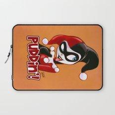 Cute Harley Quinn Sketch Laptop Sleeve