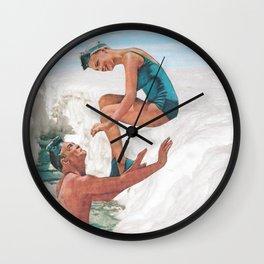 melt away Wall Clock
