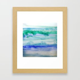 I Am Peaceful Framed Art Print