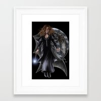 hermione Framed Art Prints featuring Hermione by Flocco