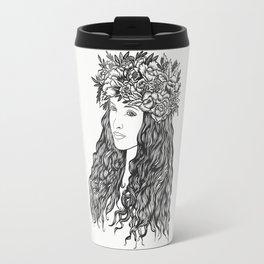 La demoiselle des fleurs Travel Mug
