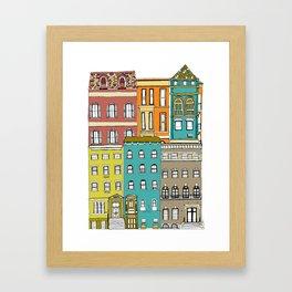 Townhouse Framed Art Print