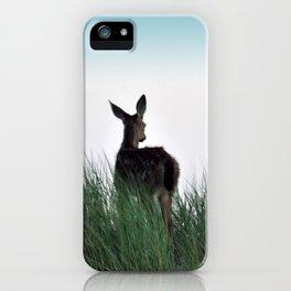 Deer Stop iPhone Case