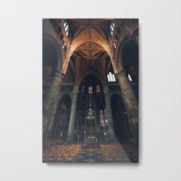 Belgium Church  Metal Print
