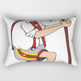 The Price is Right - Cliff Hanger Yodely Guy Rectangular Pillow