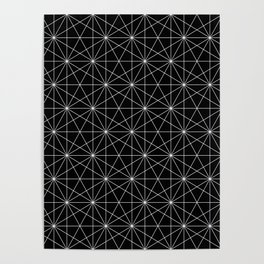 Intersected lines Poster