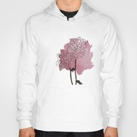 peonies Hoodies featuring peonies by morgan kendall