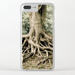 Roots of Life Clear iPhone Case