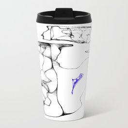 Pieces of my mind Metal Travel Mug
