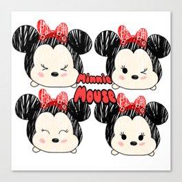 Tsum Minnie Canvas Print