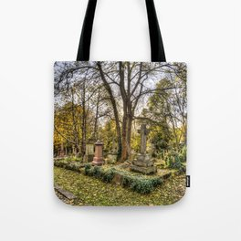 Highgate Cemetery London Tote Bag