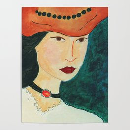 Hat Chic Poster