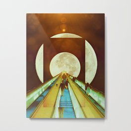 The Escalator Metal Print