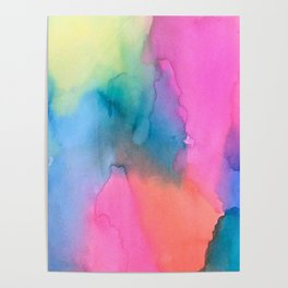 Tie Dye Poster