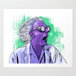 The Doc Art Print