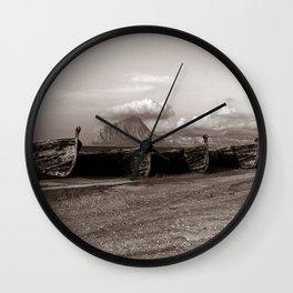 Old Port of Trapani Wall Clock