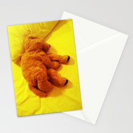 Love is... Teddy dog Stationery Cards