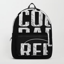 Father's Day Fishing Reel Cool Dad Backpack