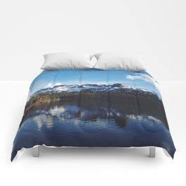 Snowy Peak and Lake Comforters