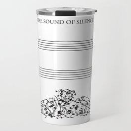 The Sound of Silence (Mono) Travel Mug