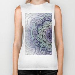 Mandala Violet Biker Tank