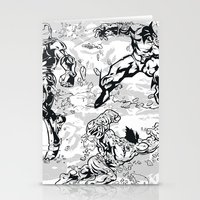 comics Stationery Cards featuring Comics by Burg
