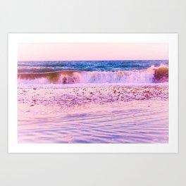 Big Blue Sea Art Print