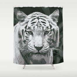 Untamed Beauty Shower Curtain