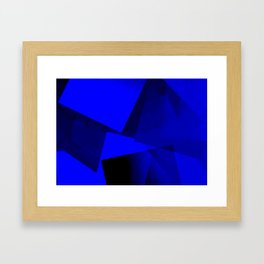 Bluelightshadows Framed Art Print