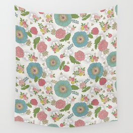 Manchester floral Wall Tapestry