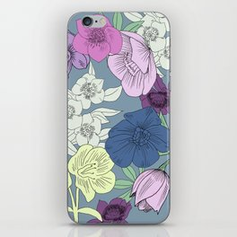 Brontes Lenten Rose iPhone Skin