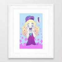 jjba Framed Art Prints featuring JJBA :: Speedwagon by Thais Magnta Canha