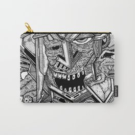 Geometric Mutations: Time to Wake Up Carry-All Pouch