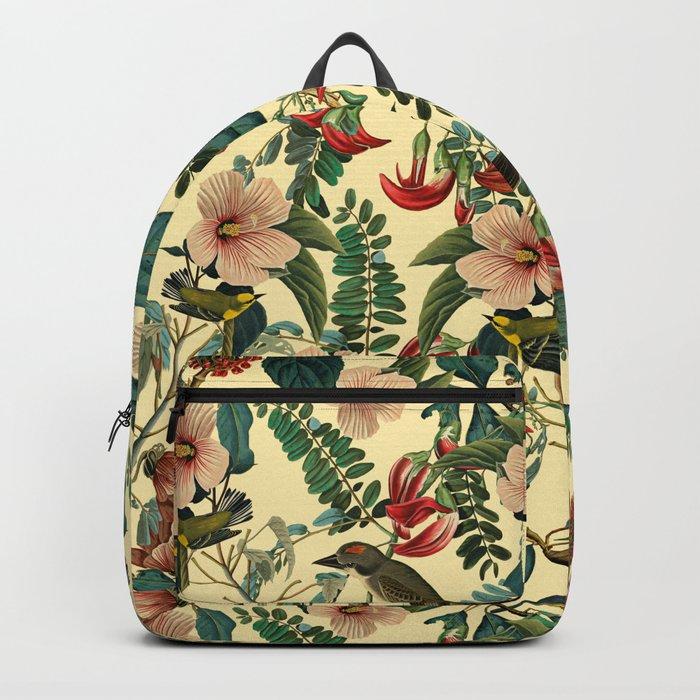 FLORAL AND BIRDS VII Backpack